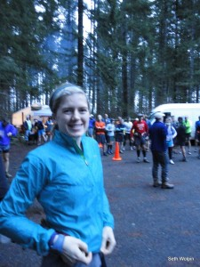 Kelly at the start