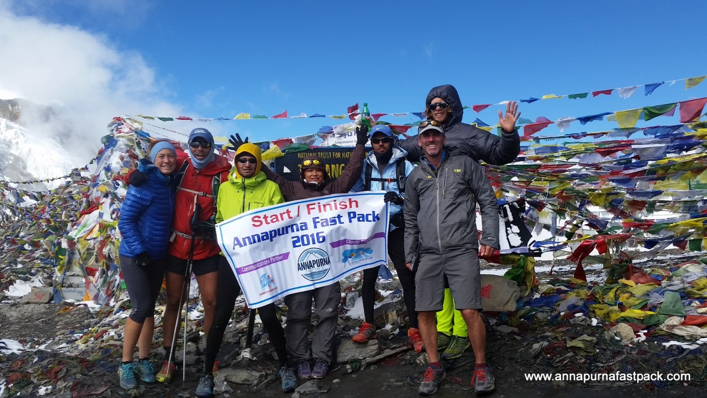 Wahoo! Thorung La - 5,416m/17,769ft