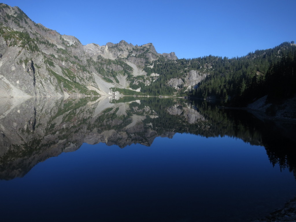 My first Alpine Lake - Snow Lake