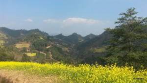 We walk through a surreal landscape for the next couple hours,  slipping between the three hills before dropping down to a road and a bus back to Kathmandu.