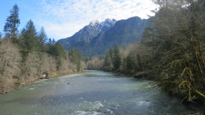Middle fork o the Snoqualmie