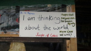 Is the world thinking of Calais?